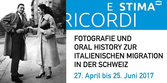 Wechselausstellung Ricordi e Stima